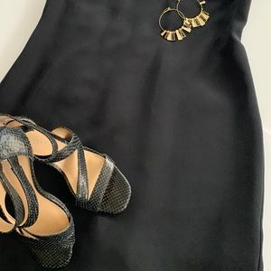 Liz Claiborne black cocktail dress